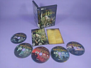 The Lord of the Rings Battle for Middle Earth 2 PC 5 Discs & manual/code No #1