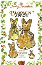 Bloomin Apron pattern by the Paisley Pincushion