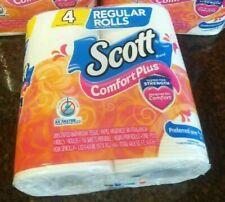 Scott Toilet Paper Bath Tissue 4 Regular Sized Rolls Comfort Plus TP USA