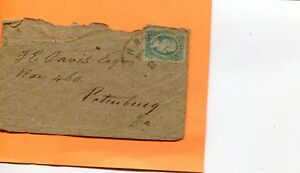 CONFEDERATE STATES # 11 RICHMOND VA POST MARKED HOME MADE BROWN PAPER COVER