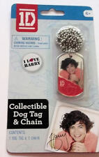 NEW One Direction 1D Harry Styles Collectible Dog Tag & Chain