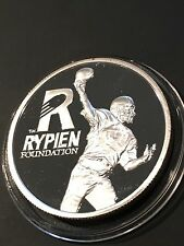Mark Rypien Foundation 2008 Benefiting Local Kids w/ Cancer Silver 1 Oz Round