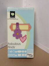 Cricut Cartridge - Fabulous Finds - Gently Used - Complete