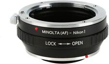 K&F Concept Lens Mount Adapter for Sony Alpha A-Mount Lens to Nikon 1 Cameras