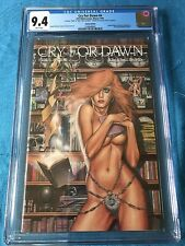 Cry for Dawn #4 - signed Limited Edition of 1500 - CFD - CGC 9.4 NM - Linsner