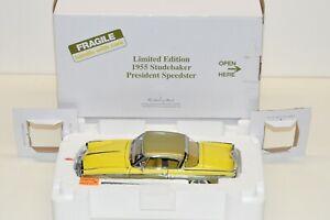 Danbury Mint 1:24 1955 Studebaker President Speedster LE # 865, READ description