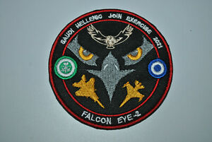 HAF -SAUDI AIRFORCE  F-15,341 SQN F-16 EXERCISE FALCON EYE 2   PATCH