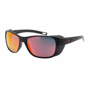 Julbo Camino Spectron 3 Cf Eyewear Sunglasses - Black ~ Red One Size