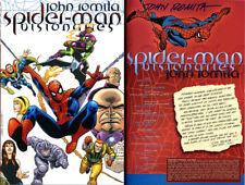 John Romita Sr SIGNED AUTOGRAPHED Marvel Visionaries SC 1st Ed 1st P Spider-Man