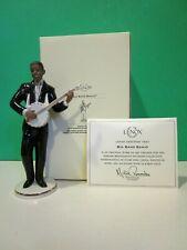 Lenox Big Band Banjo Harlem figurine African American Ebony New n Box Coa