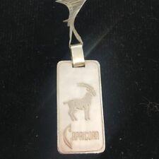 NEW Capricorn Sterling Silver Zodiac Pendant Cragside Horoscope Star Sign Goat