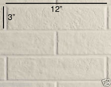 "COEM Ceramiche BRICKLANE Floor Wall Tile TOTAL WHITE 3"" x 12"" Made in Italy"