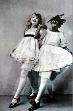 Duncan Sisters 1925 TOPSY and EVA Tap Dancers Black Americana Art Print Matted
