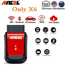 Ancel X6 Bluetooth OBDII Auto Scanner ABS Airbag Oil EPB DPF BMS Diagnostic Tool