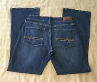 Women's Levi's Denizen Modern Boot Cut Blue Jeans Size 8 S/C (#591)