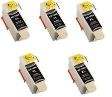 5 Kodak 10 Black XL Ink Cartridge for 10XL Printers ESP 3250 5250 6150 7250 Hero