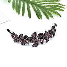 Women Fashion Crystal Rhinestone Flower Hair Clip Hairpin Babby Pin Headpiece H7