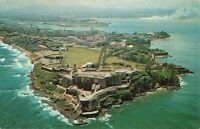 Postcard Fortress El Morro San Juan Puerto Rico
