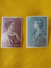 POSTZEGELS  STAMPS - TIMBRE-  NEDERLAND  JAAR 1934 NR.272/273 *(NL 98)