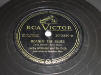 Lucky Millinder: Moanin' The Blues / How Would You Know 78 - RCA
