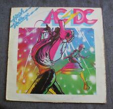 AC/DC, high voltage,  LP - 33 tours France