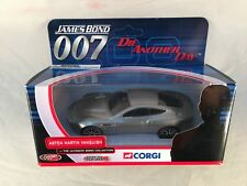 CORGI James Bond Aston Martin Vanquish TY07501 - NM Box Unpunched Card