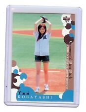 Yumi Kobayashi 2009 BBM Ceremonial First Pitch Card