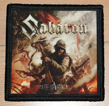 """Sabaton """"The Last Stand"""" silk screen Patch"""