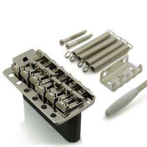 Wilkinson Tremolo WVC For Stratocaster Guitar -Solid Steel Block - Nickel
