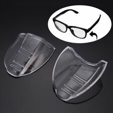 1 Pair Universal Flexible Side Shields Safety For Glasses Eyes Protection New