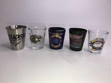 Mixed Lot of Dale Earnhart  NASCAR  Shot Glasses Talladega Speedpark