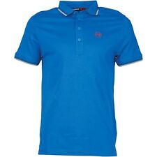 DUCK AND COVER MENS DURANT POLO SHIRT - SAPPHIRE BLUE – SMALL – BNWT