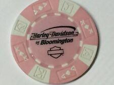 Harley Poker CHIP   HD of BLOOMINGTON     BLOOMINGTON, IN   PINK