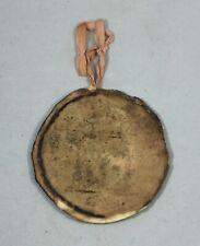 Rare Wax Seal & Ribbon of Ga Governor John Clark, Hero of American Revolution