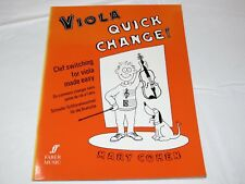 Faber Edition: Quick Change! for Viola : Clef Switching for Viola Made Easy by M