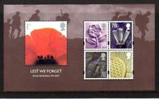 2007 GB LEST WE FORGET Miniature Sheet MS2796 MNH Minisheet UMM Unmounted Mint