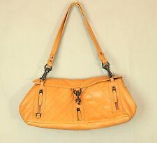 FRANCESCO BIASIA Shoulder Bag Camel Cowhide Leather Made in Italy