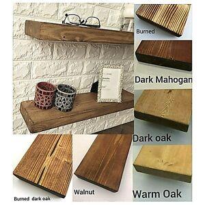 Chunky Solid Wooden Shelf  Shelves Various sizes Handmade UK Rustic