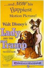Movie Posters # 41 - 8 x 10 Tee Shirt Iron On Transfer Lady and the Tramp