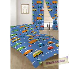 Parures de lit bleu pour enfant