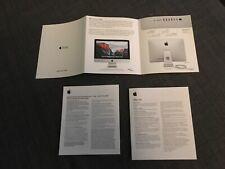 Apple iMac manual