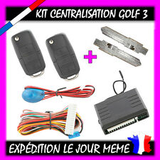 KIT CENTRALISATION A TELECOMMANDE A DISTANCE VOLKSWAGEN VW GOLF 3 ET POLO
