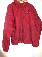 Cuffys of Cape Cod Womens Windbreaker Jacket Coat Red Size Large