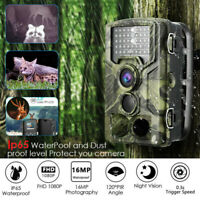 Campark Trail Game Camera 16MP FHD 1080P Waterproof IR Hunting Scouting Wildlife