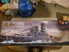 Schlachtschiff Yamato von Tamiya im Maßstab 1:350