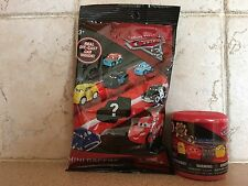 Cars 3 Disney Pixar Mini Racers Die cast Car Blind Bag and mashem