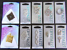 LOT OF 10 New Pendant CHARM JEWELRY - MAGNETIC ~ CRYSTAZZI ~ PERLE NOUVEAU ~ Z4