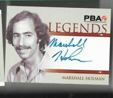 Marshall Holman PBA Legends autograph by Rittenhouse