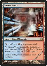 1 FOIL Steam Vents - Land Return to Ravnica Mtg Magic Rare 1x x1