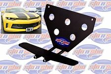 2016 2017 Chevy Camaro LT SS RS Take Off Removable Metal License Plate Bracket